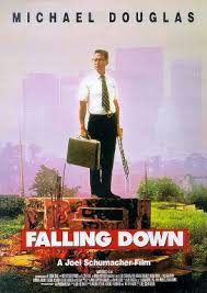 "Probably the greatest film of all time capturing a burned out guy on a meltdown was Michael Douglas in ""Falling Down."""