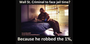 Why is Bernie Madoff the only Wall St. Criminal to face jail time?