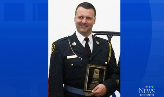 In Canada, The Ontario Provincial Police Association (OPPA) has set-up a trust fund to help Constable Peter Tucker and his family. Tucker is a motorcycle officer who was seriously injured just over a week ago when he was escorting a motorcade. He was part of a training exercise and hit a goose and crashed. The OPP association says its received thousands of calls from people wanting to help.
