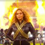 VIDEO: Beyoncé's Super Bowl Fumble