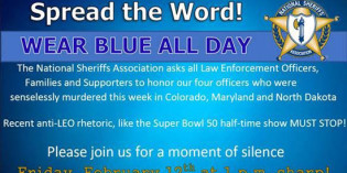 Show Your Support: WEAR BLUE