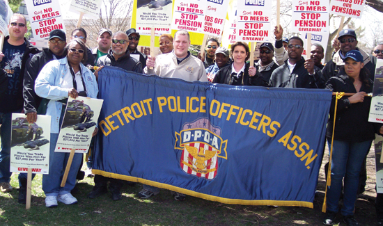 The Detroit Police Officers Association has faced attacks on their pay and pensions for the last decade.