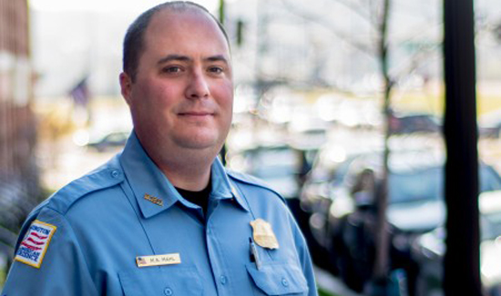 Matthew Mahl is the newly elected chairman of the D.C. Police Union.