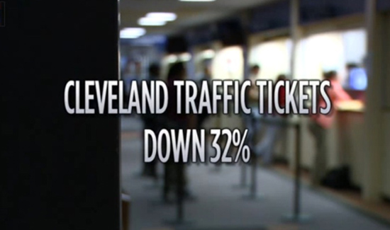 Traffic tickets in Cleveland have plummeted 32% since 2014. Union President Steve Loomis blames staffing shortages, morale.