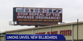 Conflict Rises, Billboards Go Up