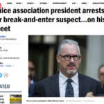 Police Association President Arrests Suspect—On His Street!